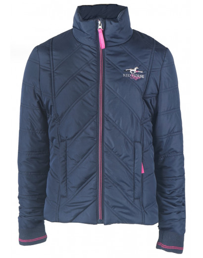 Red Horse Jacket- Levi- Navy/ Pink