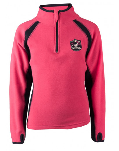 Red Horse Fleece- Fjord- Hot Pink